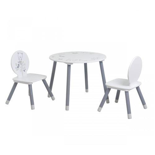 Table enfant 2 chaises petit ours