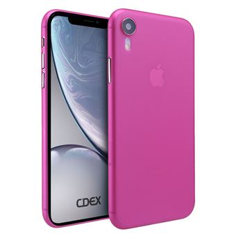 coque iphone rose xr legere