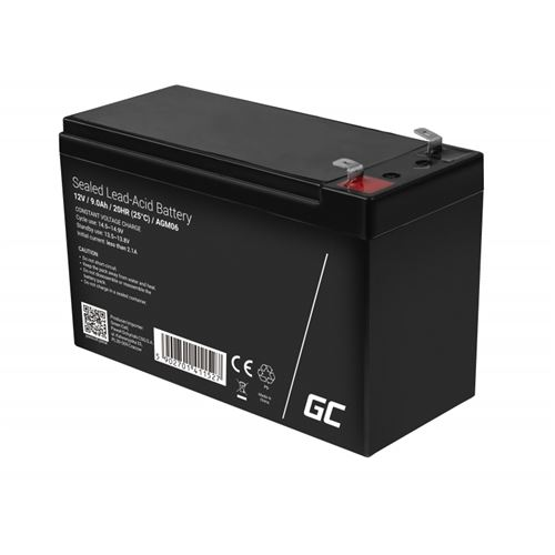 Green Cell AGM Batterie au plomb 12V 9Ah