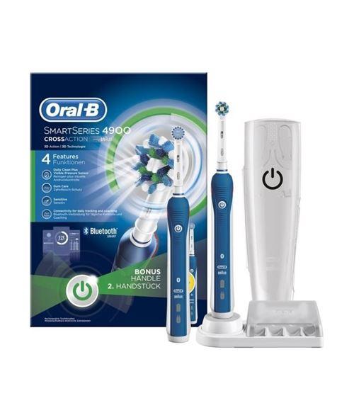 Brosse a dents électrique - oral-b smart series 4900 par braun