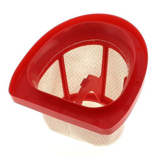 Filtre permanent rouge pour Aspirateur Moulinex