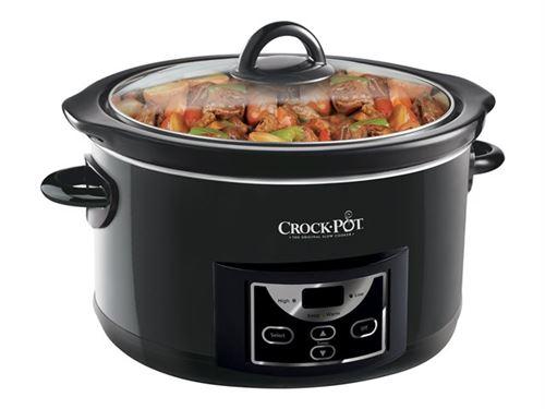 Crock-Pot SCCPRC507-B - Mijoteuse - 4.7 litres - brillant noir
