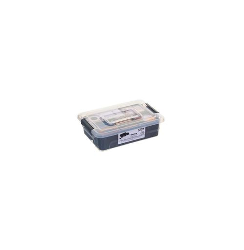 Boîte de Rangement Samba 1,5L Gris
