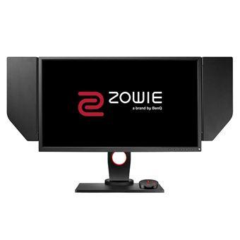 """BenQ ZOWIE XL2536 - eSports - XL Series - LED-monitor - 24.5"""" - 1920 x 1080 Full HD (1080p) - TN - 350 cd/m² - 1000:1 - 1 ms - 2xHDMI, DVI-D, DisplayPort - grijs, rood"""