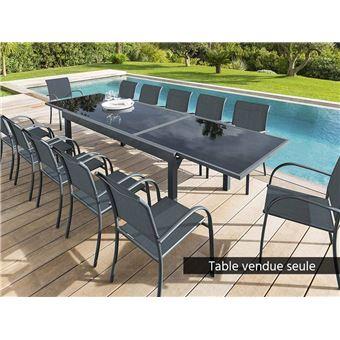 Extensible Rectangulaire En Verre Table Gris 812 Piazza Places k0OX8PNnwZ