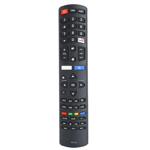 Télécommande de Télévision pour Tcl Tv Rc311S 06 531W52 Ty02X 06 531W52 Zy01X
