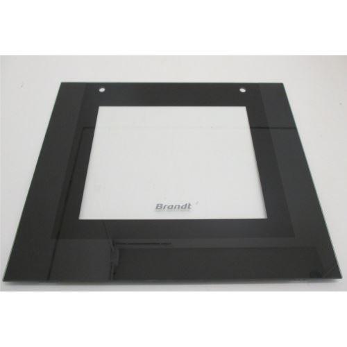 Glace exterieur noire pour four brandt - 7198846