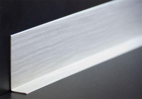 50x20 mm HOLZBRINK Plinthe Souple Autoadh/ésive Bouleau Plinthe pliable 10 m