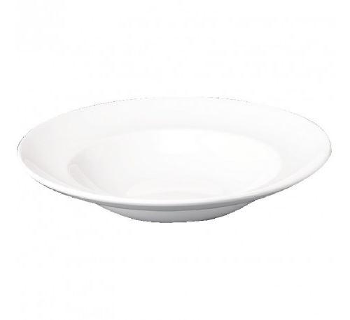 Assiette à pâtes blanche churchill