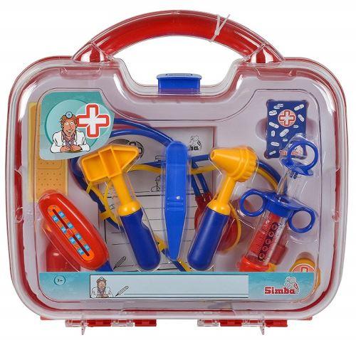 Valisette de docteur 10 pieces pour enfant - jeu d imitation - accessoire docteur