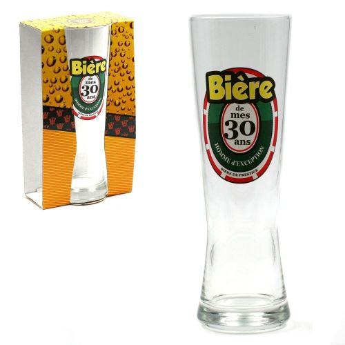 Verre à Bière - 30 Ans