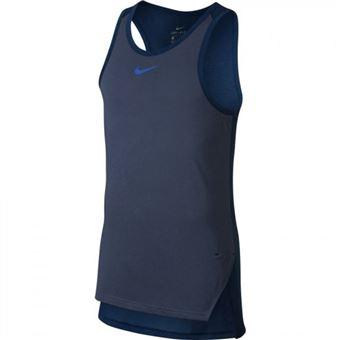 sports shoes d5677 056c4 Débardeur de basketball Nike Breathe Elite Bleu navy pour homme taille M -  Hauts, T-shirts et débardeurs de sport - Achat  prix  fnac