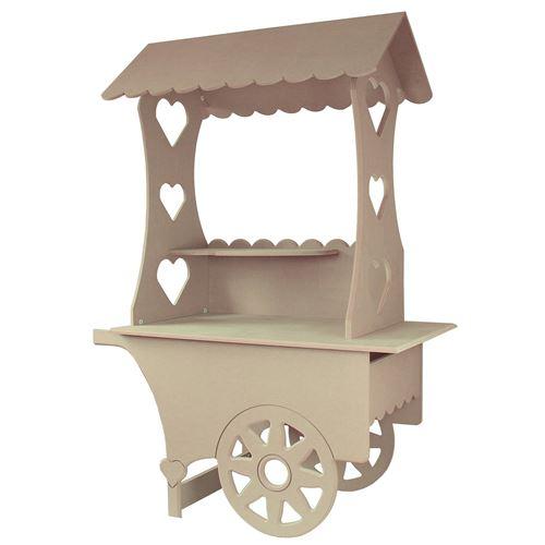 KuKoo Mini Chariot Présentoir de Friandises