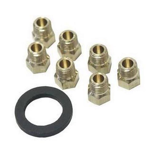 Kit injecteurs butane / propane Four, cuisinière 481931039347 WHIRLPOOL, IGNIS, BAUKNECHT, IKEA WHIRLPOOL, RADIOLA - 59193