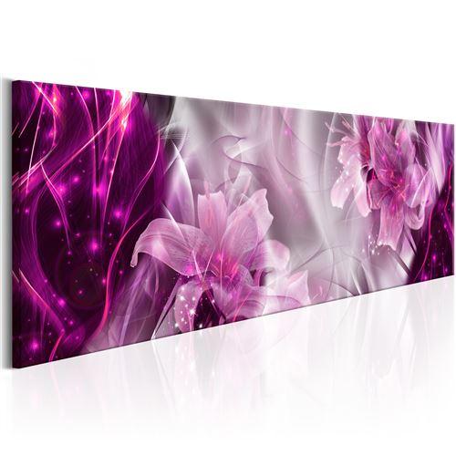 Tableau - purple flames - artgeist - 135x45