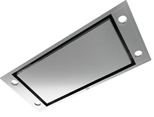 Roblin Comete 1000 - Hotte - plafond - Niche - largeur : 96.5 cm - profondeur : 41 cm - extraction et recirculation (avec kit de recirculation supplémentaire) - acier inoxydable