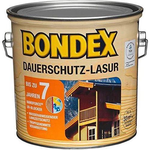 Bondex Pot de lasure de protection longue durée 2,5 l
