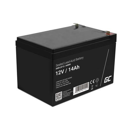 Green Cell AGM Batterie au plomb 12V 14Ah