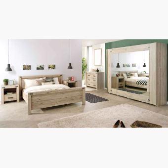 Chambre adulte contemporaine AURORE - Option 1 - Achat & prix | fnac