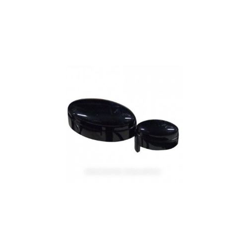 Poussoir start/stop noir pour micro ondes whirlpool - 481241028996