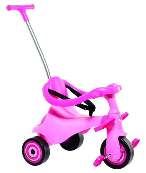 Molto – Tricycle Urban trike II, couleur ROSE (16218)