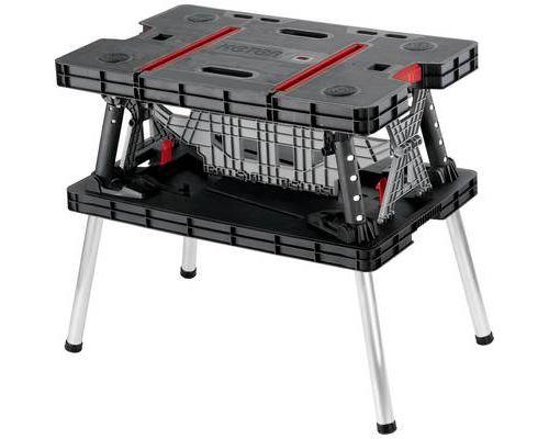 Maximale Dimensions Table De Keter Ouverte85x55x76cm Pliable Charge Etabli Travail 450kg wkO8n0P