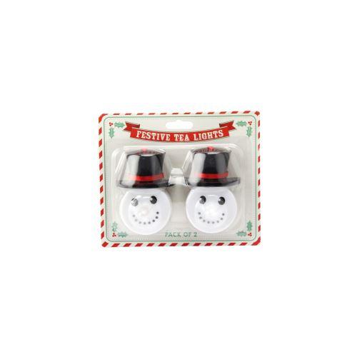 Joy To The World - Bougies festives à LED (Lot de 2) - UTCB2040