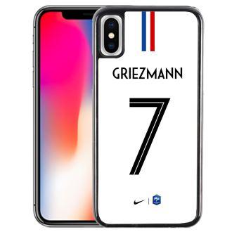 Coque pour iPhone XS MAX football france maillot griezmann