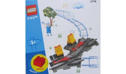 Lego duplo 2736 les aiguillages