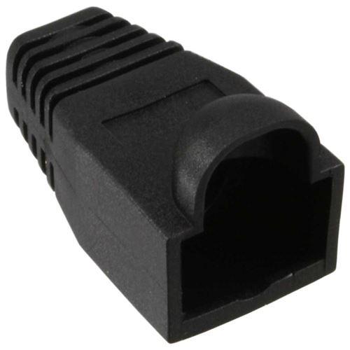 InLine® 10 pcs Pack RJ45 Anti Kink Sleeve noir