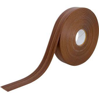 Plinthe Pliable Pvc Décor Noyer Flexible Adhésive 25 Mètres