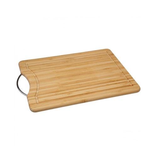Planche à découper - Bambou et acier
