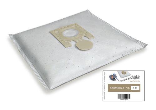 Kallefornia k35 de 20 sacs filtrants pour aspirateurs privileg 445.361 9 extra clean 445/361/445.361....