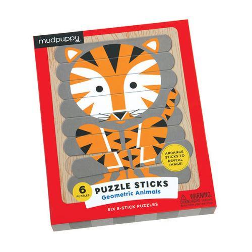 Puzzle Sticks 24 Pièces Les Animaux Mudpuppy
