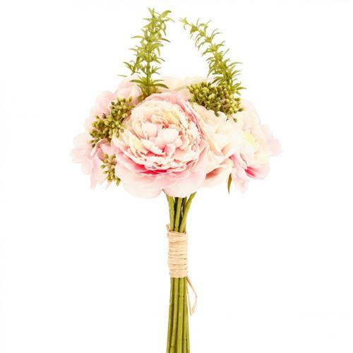Bouquet de Fleurs 35cm Rose