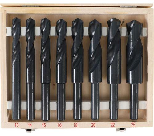 Forets queue réduite a 13 mm, diamètre 13, 14, 15, 16, 18, 20, 22, 25 mm