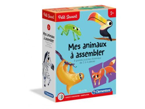 Clementoni - Mes animaux à assembler - 2 ans et +