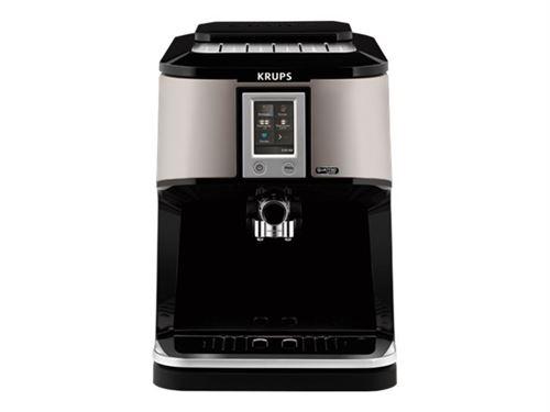 Expresso avec broyeur à grains Krups EA880E10 1450 W Noir et Argent