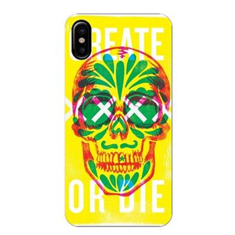 coque iphone xs fluo