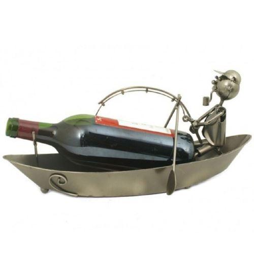 Support bouteille métallique Le Pêcheur