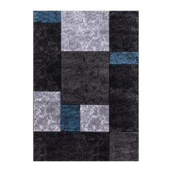 Nazar Tapis Fibres Synthetiques Bleu 150 X 80 Cm Achat Prix