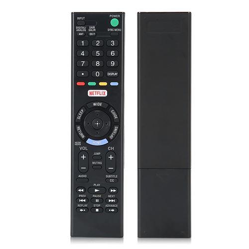 Télécommande TV RMT‑TX102B Contrôleur ABS Noir pour Sony Télévision Intelligente