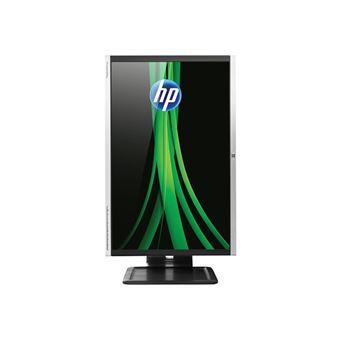 """HP Compaq LA2405x - Écran LED - 24"""" (24"""" visualisable) - 1920 x 1200 Full HD - TN - 250 cd/m² - 1000:1 - 5 ms - DVI-D, VGA, DisplayPort - noir, aluminium brossé"""