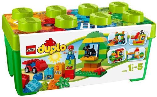 Lego duplo briques - 10572 - jeu de construction - grande boîte du jardin en fleurs