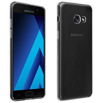 Coque pour Samsung Galaxy A3 2017 Silicone Souple Ultra-Fin Transparent
