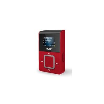 D-JIX lecteur MP3 C 219 WOM BC sans mémoire avec FM et support micro carte SD blanc