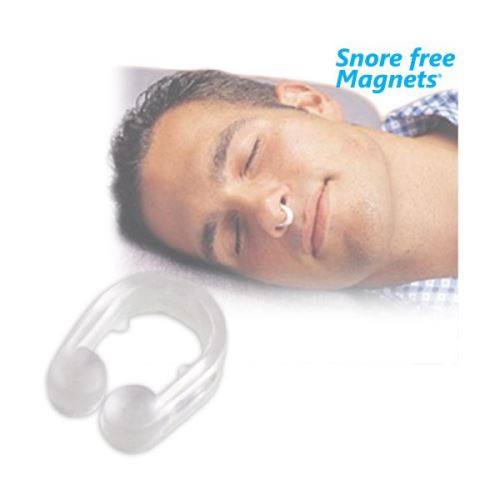 Magnets pour nez Anti Ronflement - Anneau Nasal Pince Nez Anti Ronflement