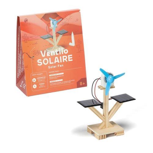 Ventilador solar DIY