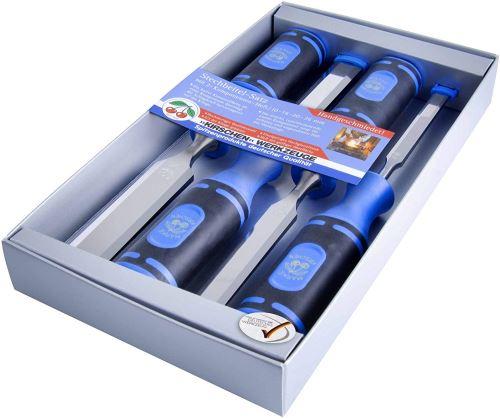 Kirschen 1198000 Jeu de ciseaux à bois 4 pièces 10-26 mm Poignée composite 2 matières (Import Allemagne)
