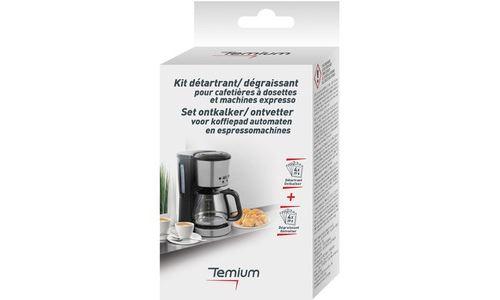 Nettoyant et détartrant pour cafetière TEMIUM KIT DETAR TEM100